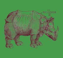 Rhinoceros Kids Tee