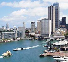 Sydney Harbour - Circular Quay by GeorgeOne