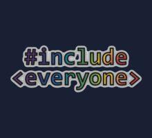 GEEKS FOR PEACE - #INCLUDE EVERYONE Kids Tee