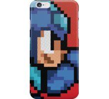 Megaman 8bit Halftone iPhone Case/Skin