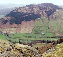 View of Langdale from Stickle Tarn by GeorgeOne