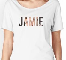 JAMIE. Women's Relaxed Fit T-Shirt