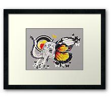 L'éléphant Magnifique Forever Framed Print