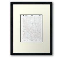 USGS TOPO Map Arkansas AR Green Forest 20110727 TM Framed Print