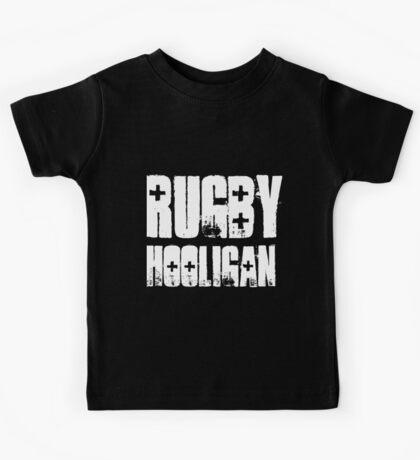 #rugby hooligan Kids Tee