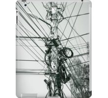 Well Conducted and Lit Communication iPad Case/Skin