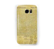 Declaration of Independence Samsung Galaxy Case/Skin