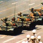 Tank Man Painting by LibertyManiacs