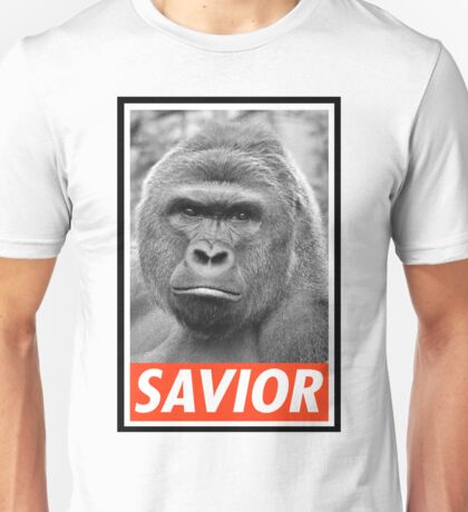 "Harambe ""He died For our Sins"" Juan 3:23 – 24 Unisex T-Shirt"