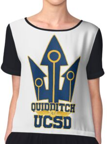 UCSD Magical Sports Swag Chiffon Top
