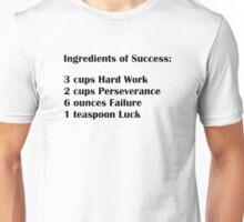 Ingredients of Success Unisex T-Shirt