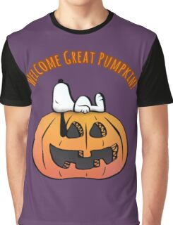 Welcome Great Pumpkin   Graphic T-Shirt