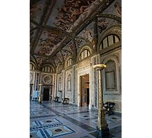 The Opulent Loggia in Villa Farnesina, Rome, Italy - 2 Photographic Print