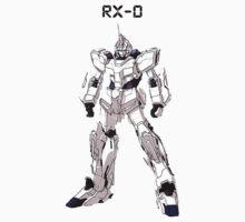 RX-0 Unicorn Gundam Kids Tee
