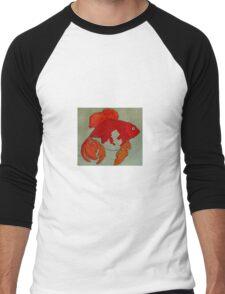 Transcendental Goldfish  Men's Baseball ¾ T-Shirt