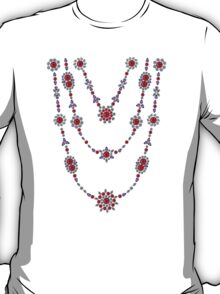 Ruby Trio Necklaces T-Shirt