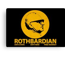 ROTHBARDIAN Canvas Print