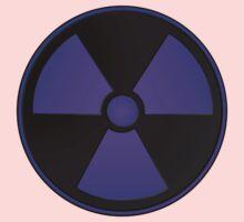 Purple Radioactive Symbol One Piece - Long Sleeve