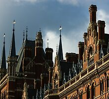London's Eurostar Train Station St. Pancras International - a Remarkable Victorian Gothic Revival Building by Georgia Mizuleva