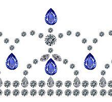 Princess Sapphire Tiara by eldonshorey