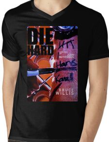 DIE HARD 20 Mens V-Neck T-Shirt