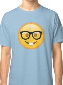 Nerd Glasses Buckteeth Emoji Design Classic T-Shirt