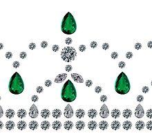 Princess Emerald Tiara by eldonshorey