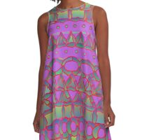 Freeway Through The Forest A-Line Dress