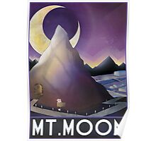 Mt.Moon Travel Poster Poster