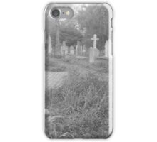 Path Through the Cemetery iPhone Case/Skin