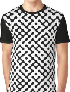 Continuous   halftone background Graphic T-Shirt