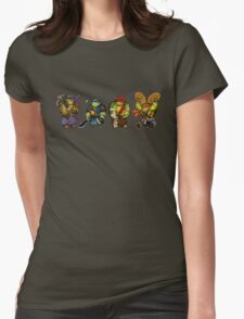 Team Chibi Womens Fitted T-Shirt