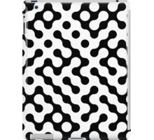 Continuous   halftone background iPad Case/Skin