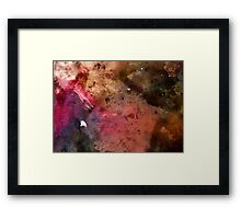 The Orion Nebula - Watercolour Framed Print