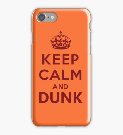 Calm and Dunk iPhone Case/Skin