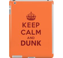 Calm and Dunk iPad Case/Skin