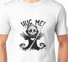 Funny Cute Hug Me Grim Reaper Unisex T-Shirt