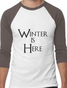 Winter is Here - Game of Thrones Men's Baseball ¾ T-Shirt