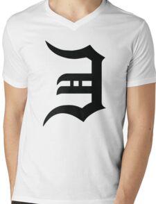 Eminem E Mens V-Neck T-Shirt