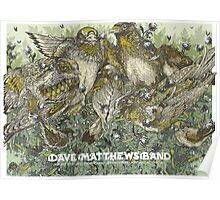 DMB Hollywood Casino Amphitheatre MARYLAND HEIGHTS MO, SUMMER TOUR 2016 Poster