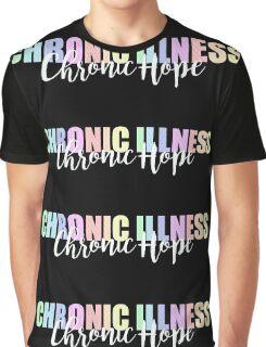 Chronic Illness Chronic Hope Ribbons Graphic T-Shirt