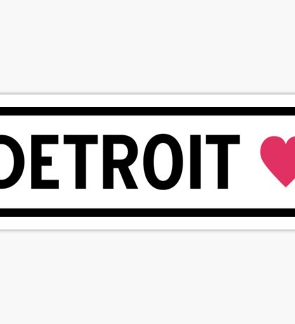 Detroit Sticker