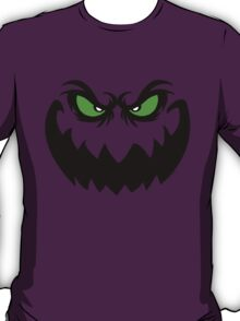 Evil Halloween Ghoul Face  T-Shirt