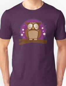 Sleepy owl Duvet Unisex T-Shirt