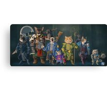Catical Role Canvas Print