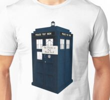 The Doctor is Out Back in 5 II Unisex T-Shirt
