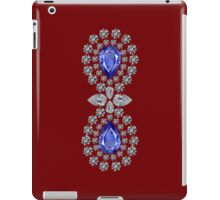 Burnt Umber Double Sapphire Ipad Case iPad Case/Skin