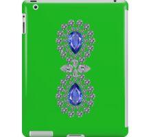 Bright Green Double Sapphire Ipad Cover iPad Case/Skin