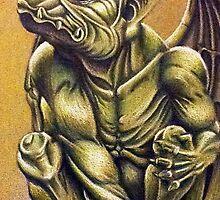 Gargoyle by justacramp