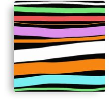Pastel Brush Stokes Canvas Print